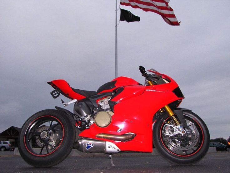 2012 DUCATI 1199 PANIGALE S RED 1199cc TERMIGNONI EXHAUST LOWER SETS