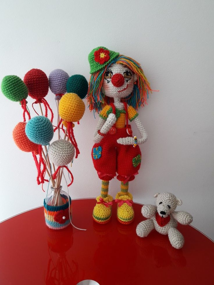 Payasita Alana tejida a crochet  Amigurumi byjaneth @japuci