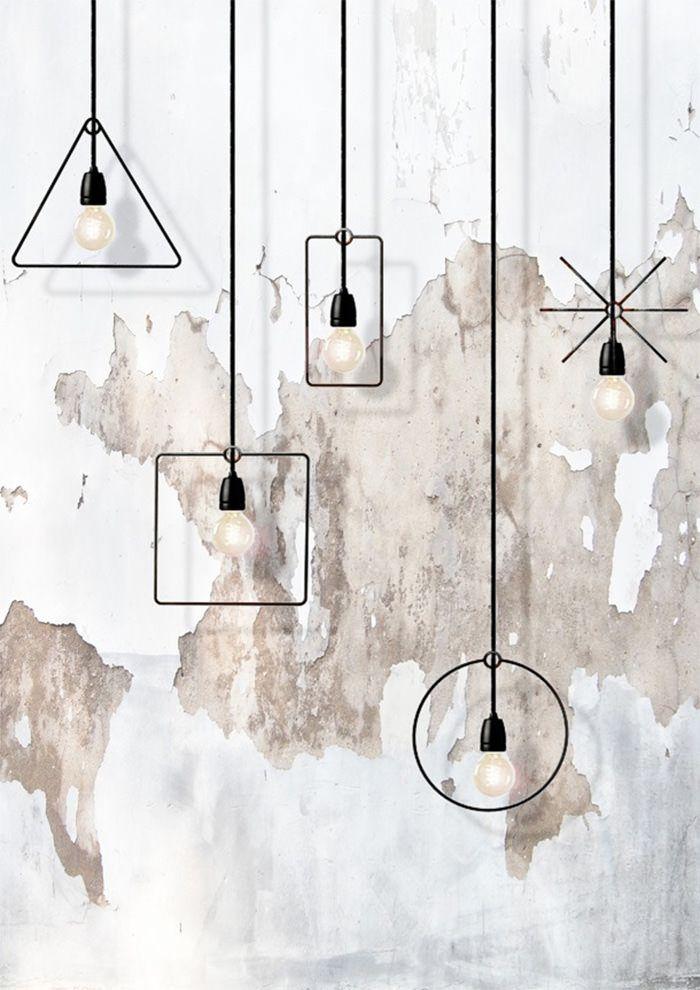 lamp geometric frame - Google Search