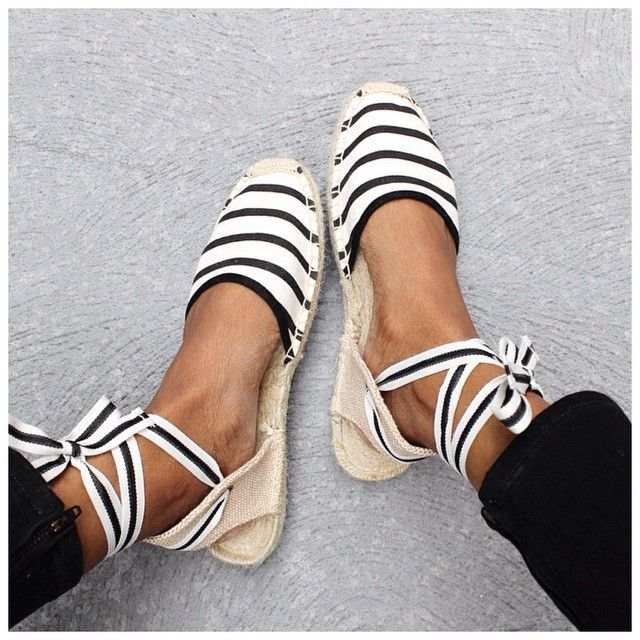 """THE BEST espadrilles @styletread                                                                                                                                                      Mais"