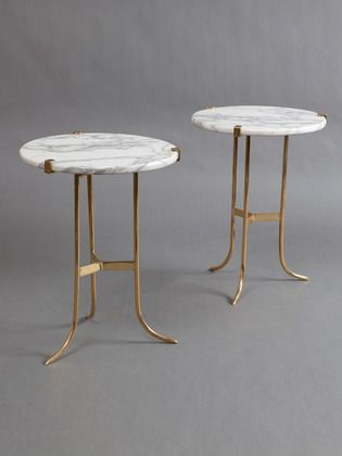 Jansen marble #tables #furniture. For smart #stonecare tips, visit: http://themarbleman.com.au/