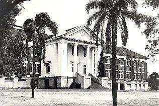 Wynnum State High School in its earlier years