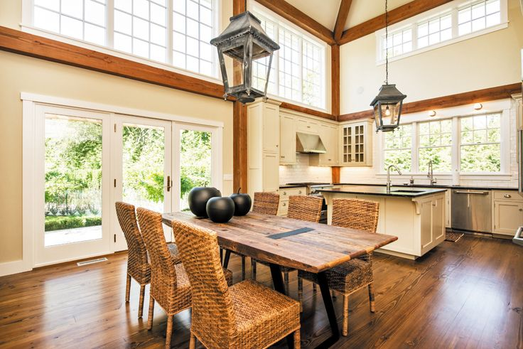 Best 25 post and beam ideas on pinterest barn loft for Post and beam kitchen ideas