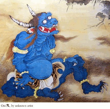 Oni, demonio japonés