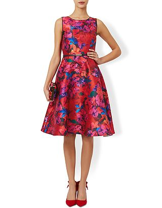 Layla Print Dress