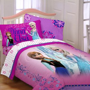 Maybe A Birthday Present For Kaykee Anna And Elsa Comforter Frozen Twin Full