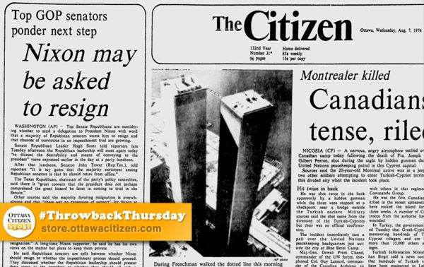 an overview of the watergate scandal of the early 1970s While the watergate scandal that forced nixon to resign in 1974 resembles   media fragmentation: in the early 1970s, there were few national.