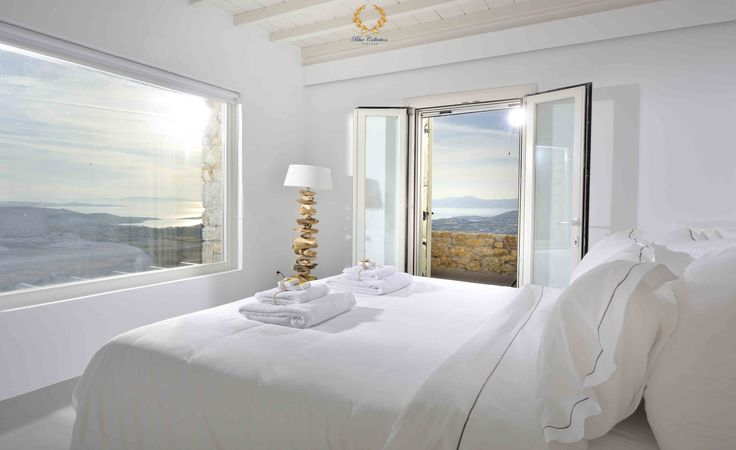 Bedroom with View !!! Learn More ➲ http://goo.gl/t8sSqZ   Good morning (Kalimera) from #BlueCollection #Mykonos #Greece to all our friends. Wishing you a very nice and relaxing Sunday , full of sunny smiles and happy thoughts   #Selective #RealEstate #Luxury #Villa #VillaRentals #MykonosVillas #Summer #Mykonos2017 #MMXVII #Summer2017 #Travel #Premium #Concierge #MegaYachts #PrivateJets #Security #CloseProtection #VIP #Services