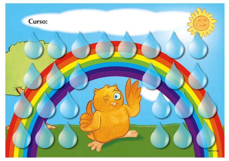Lo primero os dejo esta orla para hacer un montaje referido al tema, primavera o arco iris.    La primera etapa de nuestra pirámide de al...