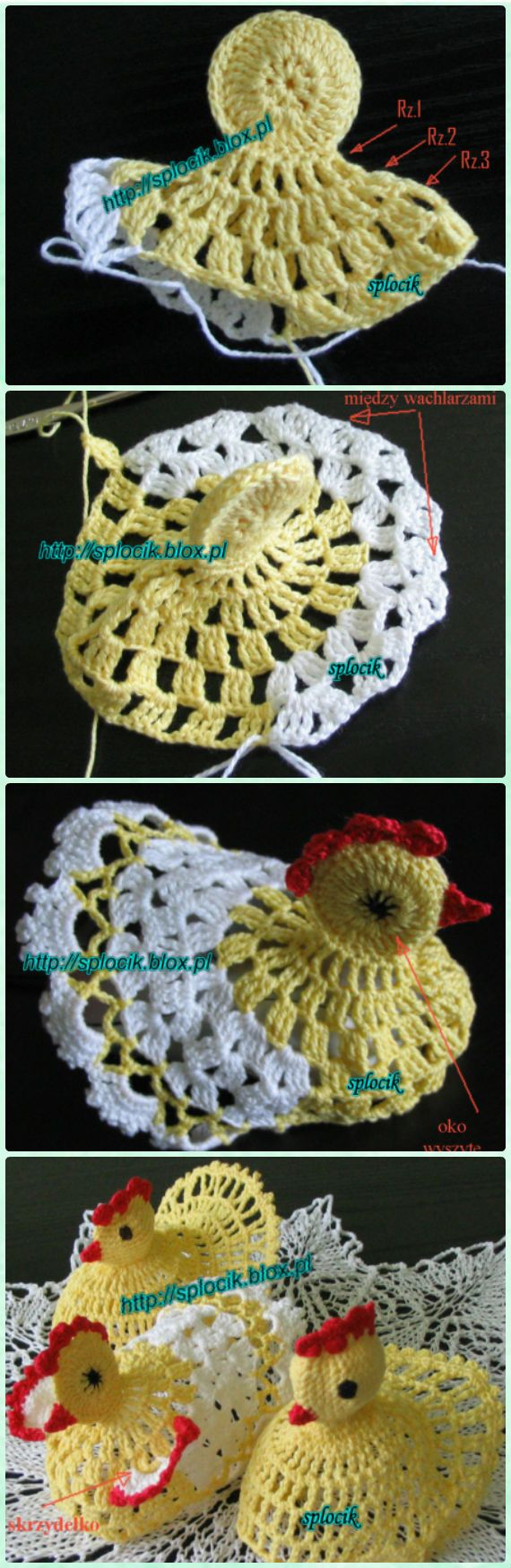 Crochet Standing Easter Chick Free Pattern - Crochet Chicken Free Patterns