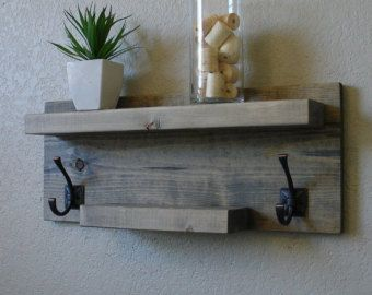 Simply Modern Rustic Bathroom Shelf w/ 18 Brushed by KeoDecor