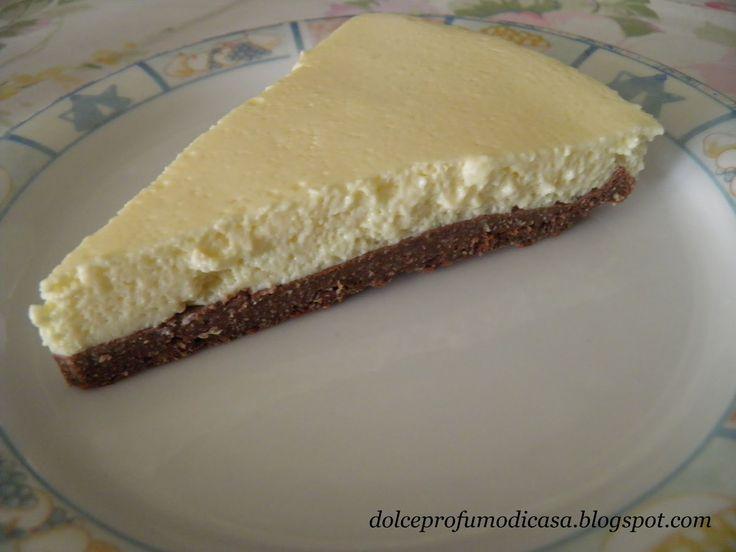 Dolce profumo di casa: Cheesecake cioccolato e vaniglia - Dieta Dukan