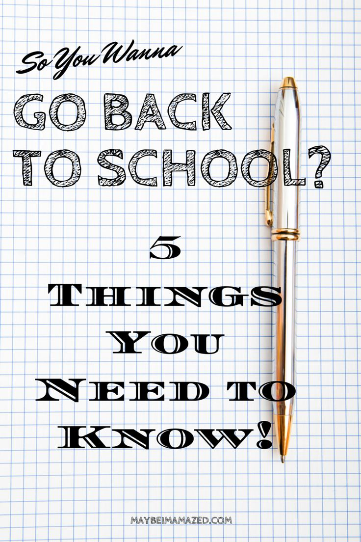 best going back to school ideas school study  5 things you need to know about going back to school