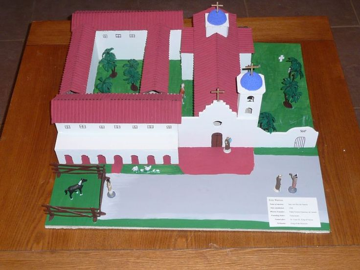 Alyssa's 4th grade mission project- San Luis De Francia