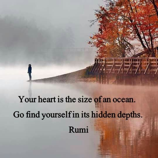 You're gonna find yourself within!