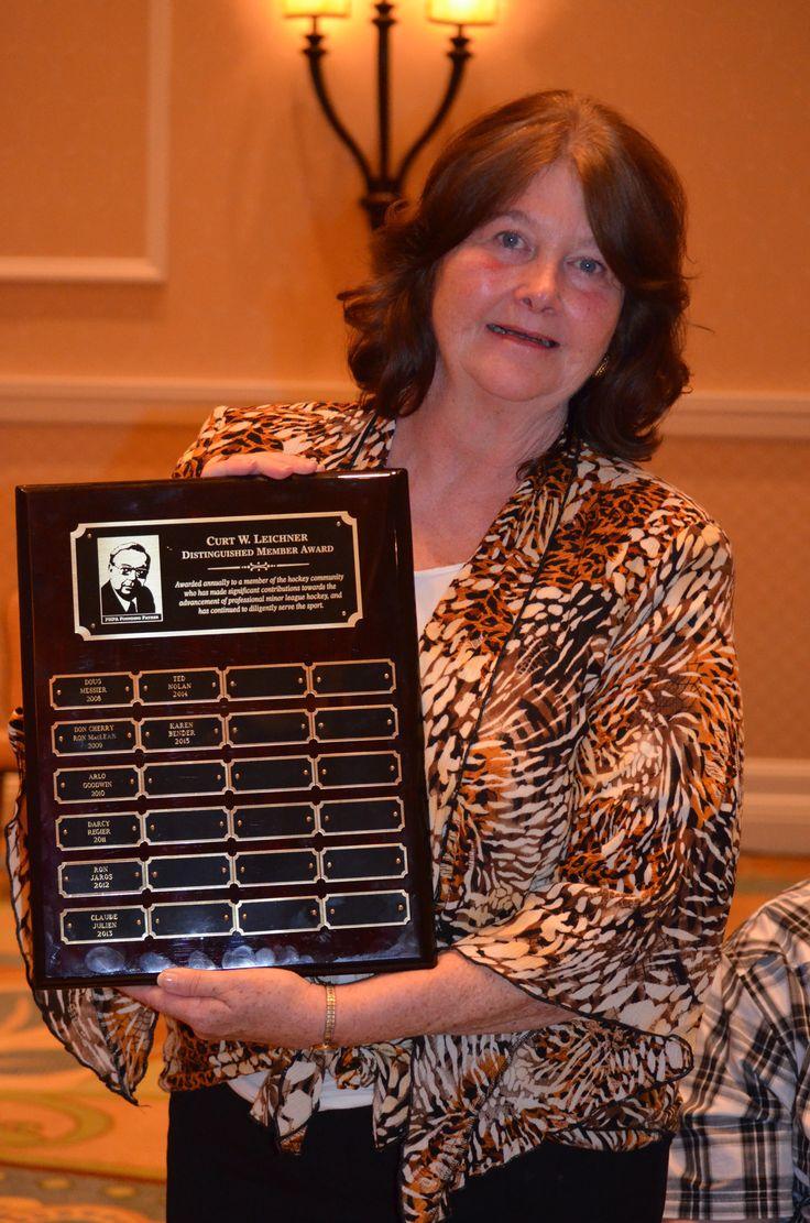 2015 recipient of the PHPA Curt Leichner Distinguished Member Award, Karen Bender