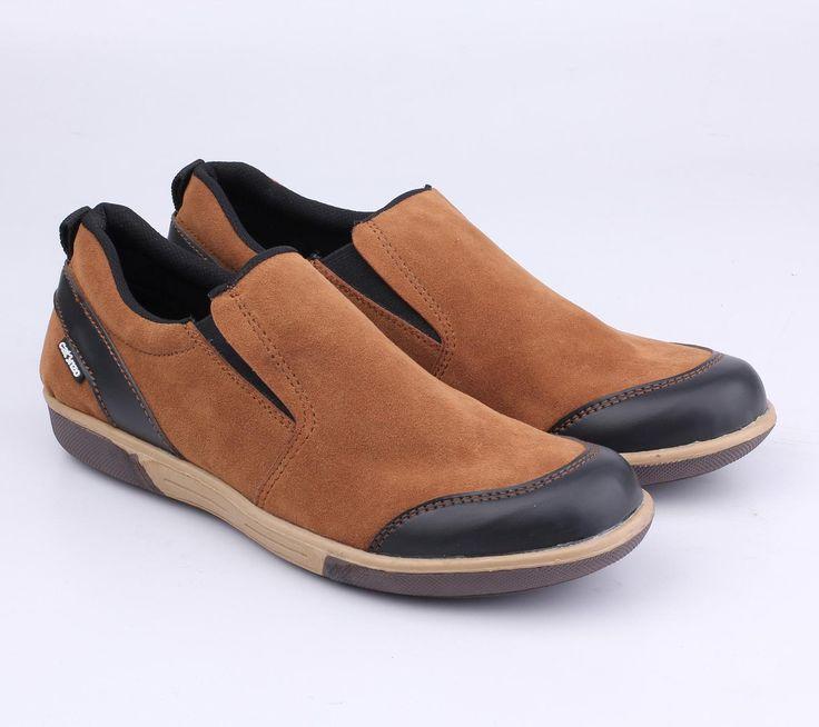 Sepatu Slip-On Pria - NT 041 - Bushindo Shop