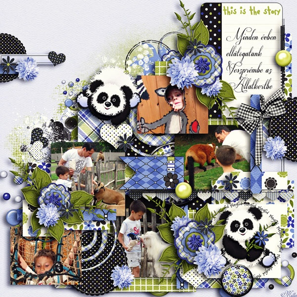 Little Panda Luvs ~ Bundled Collection by Jumpstart Designs  template Day by day 2013. - Week 2. by Tinci Designs