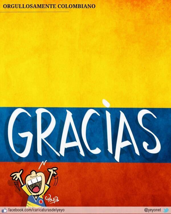 Gracias Selección Colombia