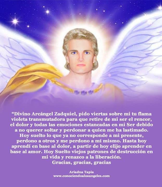 Arcangel Zadquiel  Ariadna Tapia