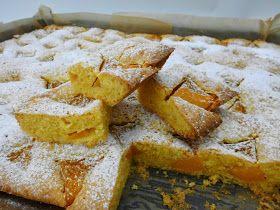 creaymme: Plaatgebak met abrikozen of perziken