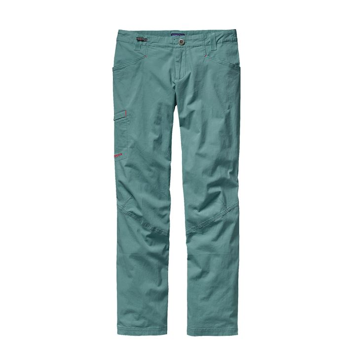 Come on, ¡venga! The Patagonia Women's Venga Rock Pants are made of lightweight organic cotton with just enough stretch to be your go-to climbing pants.