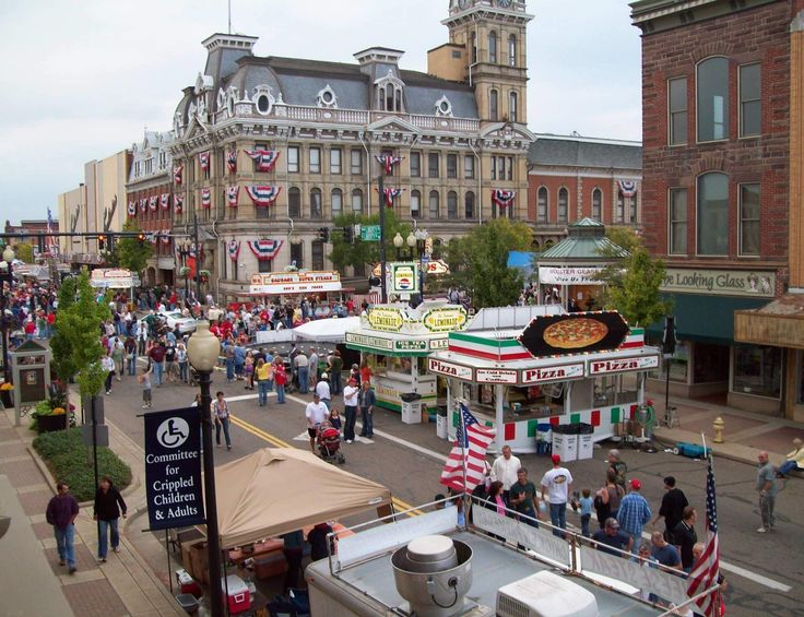 You're gonna be pretty busy this fall… the absolute BEST Ohio fall festivals