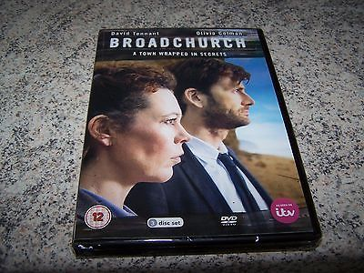 Dvd, #broadchurch series 1 tv show 2013 #(drama), david #tennant, 12, brand new.,  View more on the LINK: http://www.zeppy.io/product/gb/2/172018345186/