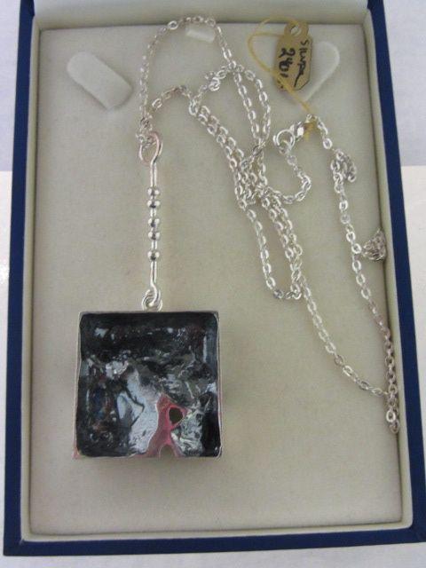 Jorma Laine, upea kaulakoru, hopeaa. nro2361 - Antik & Design - Gallery Tarvainen, 240 e
