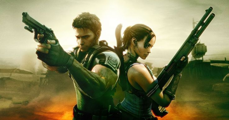 Wallpaper HD Resident Evil 5 #ResidentEvil5 #SurvivalHorror #Zombies #ChrisRedfield #ResidentEvil5HD #ResidentEvil5Remaster