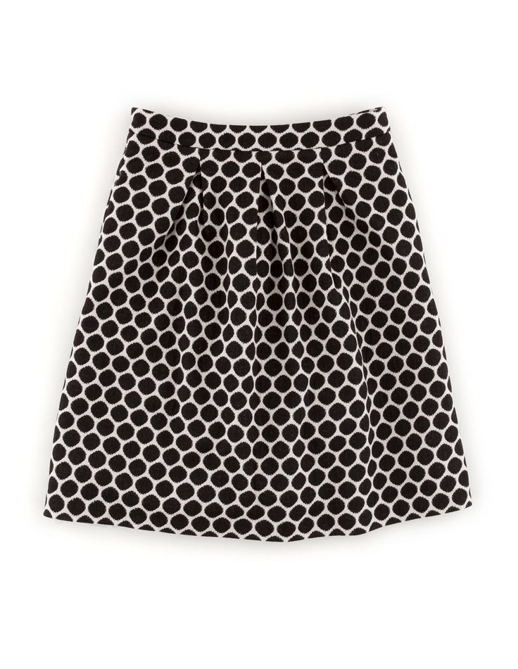 Go dotty for our Jersey Jacquard Skirt! Shop with 15% off and free delivery with code PIN1 (UK) or PIN2 (US) #Boden #AW14