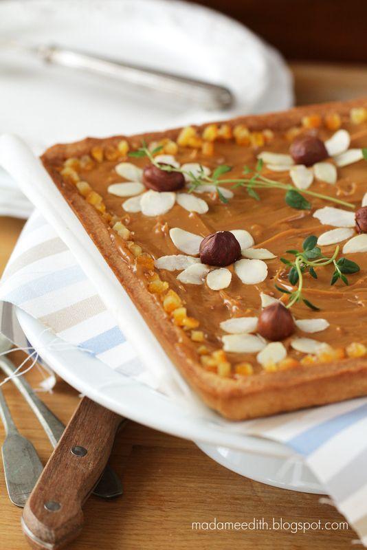 Caramel tart : mazurek kajmakowy                                                                                                                                                      Mais
