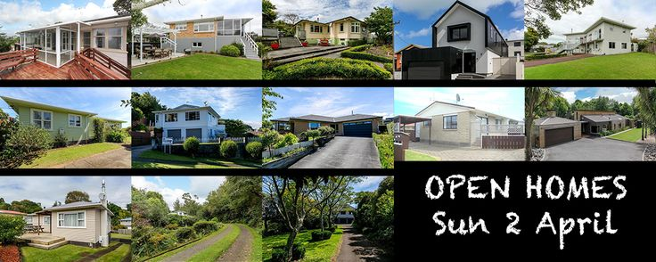 This Sunday once again we will be having thirteen open homes so let's get readyfor super charged viewings! From left to right: 1A Wallace Place Westown 11:00-11:30am | 10A Kowhai Street Stra…