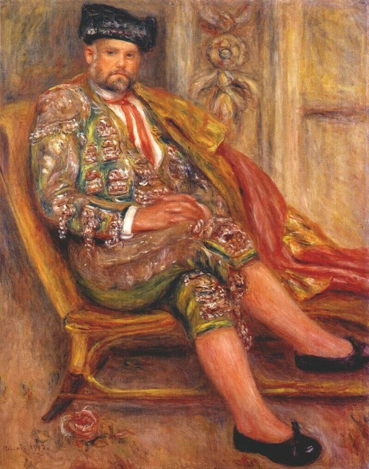 Auguste Renoir-Vollard en toréador