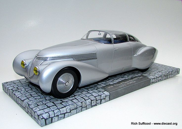 1938 Hispano-Suiza H6C Dubonnet Xenia   Cars and Diecast