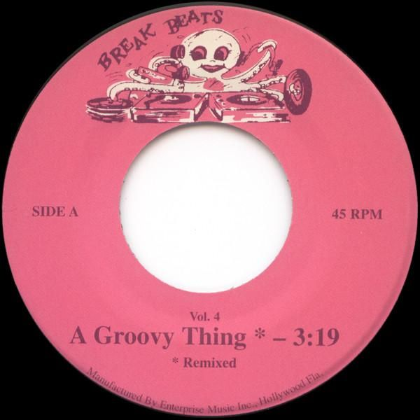 People S Choice A Groovy Thing Octopus Breaks Bb Vol 4 Vinyl Records For Sale Groovy Vinyl Records