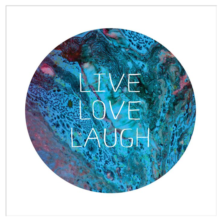 Deluxe Living - 'Live, Love Laugh - Marble' Typography Ready to Frame Print, $24.95 (http://www.deluxeliving.com.au/live-love-laugh-marble-typography-ready-to-frame-print/)