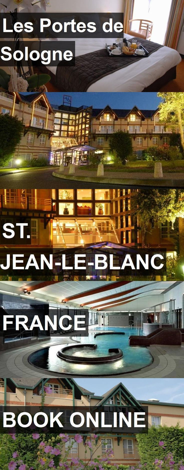 Hotel Les Portes de Sologne in St. Jean-le-Blanc, France. For more information, photos, reviews and best prices please follow the link. #France #St.Jean-le-Blanc #travel #vacation #hotel