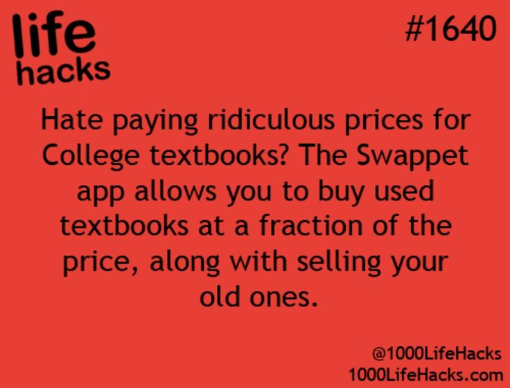 free textbooks college life life hacks - Wwwpaintcom