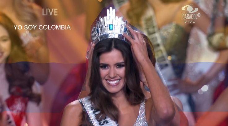 Nuestra belleza en las mujeres hoy la premia el mundo: Hace 57 años, una Señorita Colombia no ganaba el concurso de belleza más importante. La Señorita Colombia, Paulina Vega, es la nueva Miss Universo. imagenes de la TDT de Accolombia