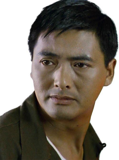 Chow Yun Fat closeup in Hard Boiled. From http://www.writeups.org/chow-yun-fat-generic-character/