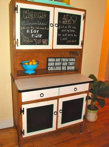 Hoosier Cabinet Colors | Hoosier Cabinet Redo « Maeve's HavenMaeve's Haven