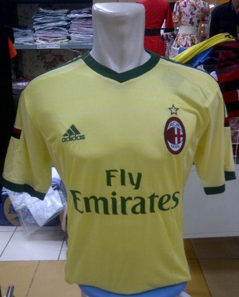 AC Milan 3rd..Ukuran : M-L-XL HargaRp.95.000,-