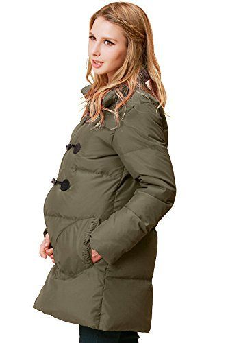 New Trending Outerwear: Sweet Mommy Maternity and Mothers Down Duffle Coat with baby wearing pouch Khaki, M. Sweet Mommy Maternity and Mother's Down Duffle Coat with baby wearing pouch Khaki, M   Special Offer: $157.41      477 Reviews Fashionable design and colour, high quality details. This model has a high collar, that can be kept high to shelter your neck in the coldest days, or lowered...