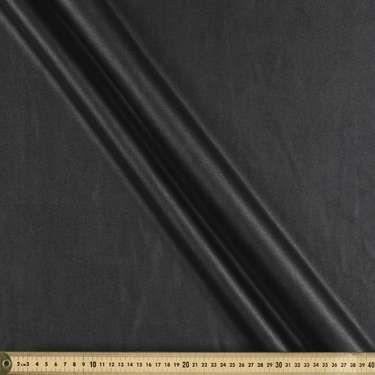 AU$19.99 per metre Faux Leatherette Black 147 cm from Spotlight Australia  (price correct as at 01.10.17)