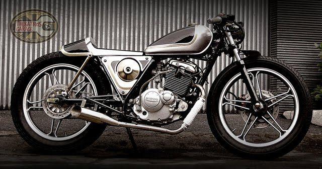 Suzuki EN125 By Thekatros    ♠ http://milchapitas-kustombikes.blogspot.com/ ♠