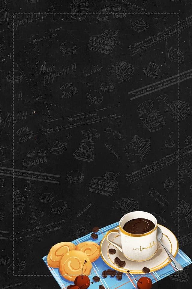 Doodle Coffee Shop Promotion Poster Background Template Food Background Wallpapers Food Poster Food Poster Design