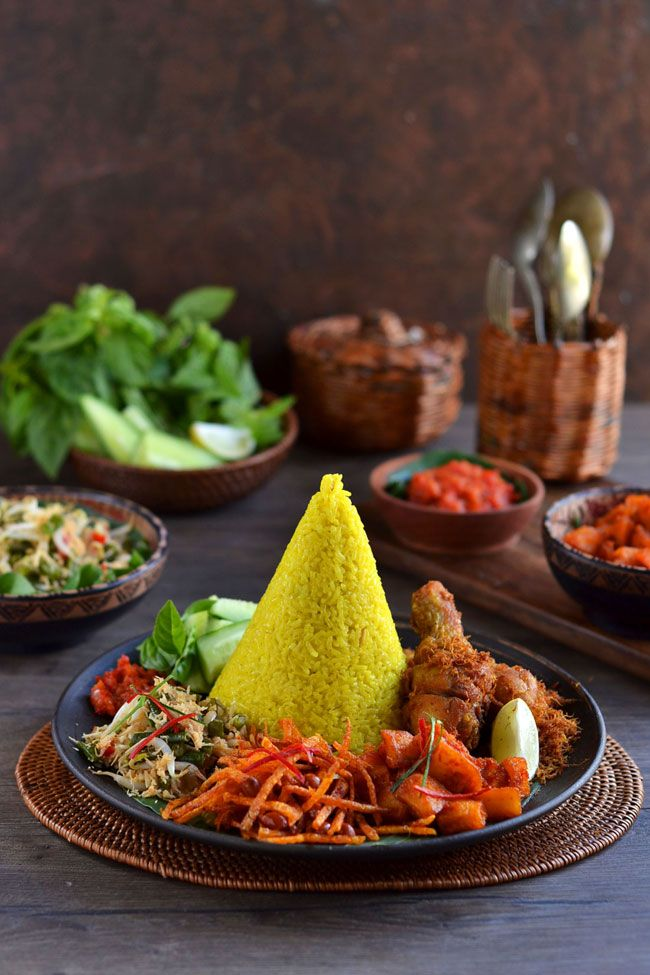 Tumpeng Mini Food Photography Indonesian Food Food
