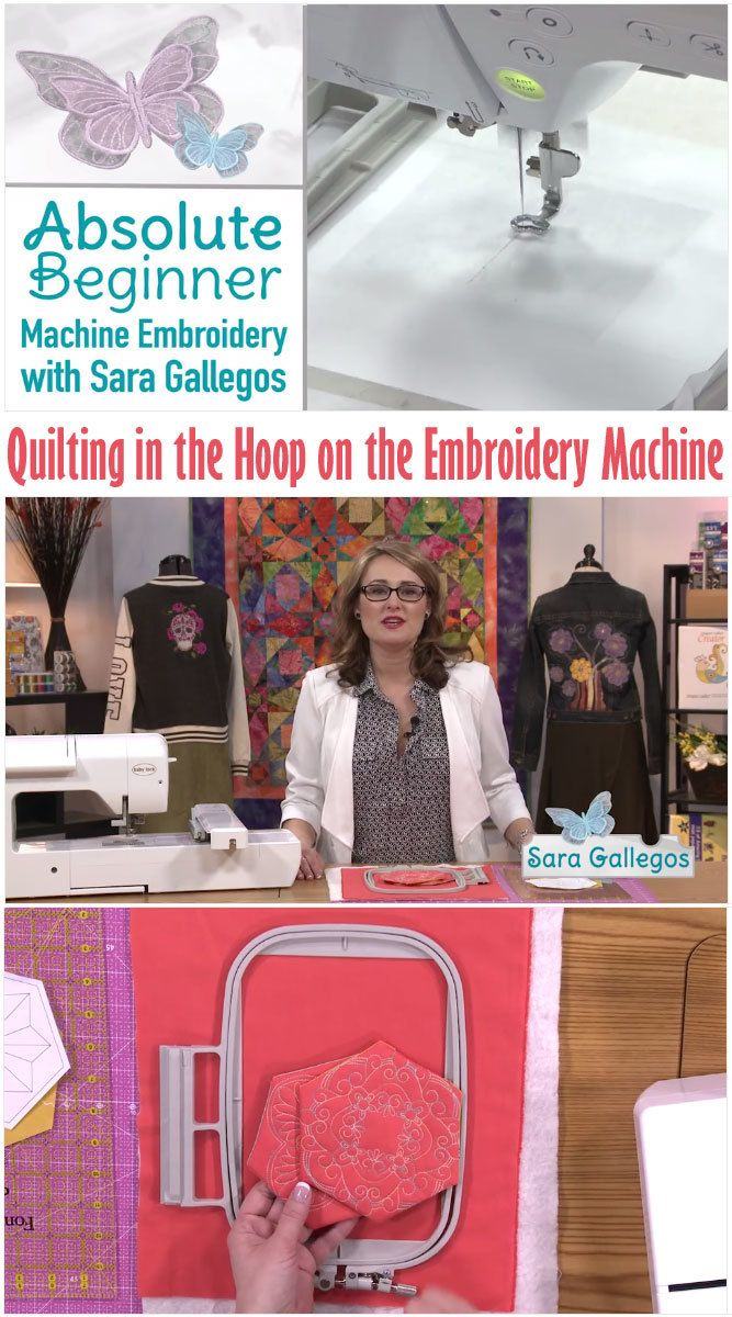 Learn to use your embroidery machine to it's fullest! Start watching Absolute Beginner Machine Embroidery today with your QNNtv subscription.