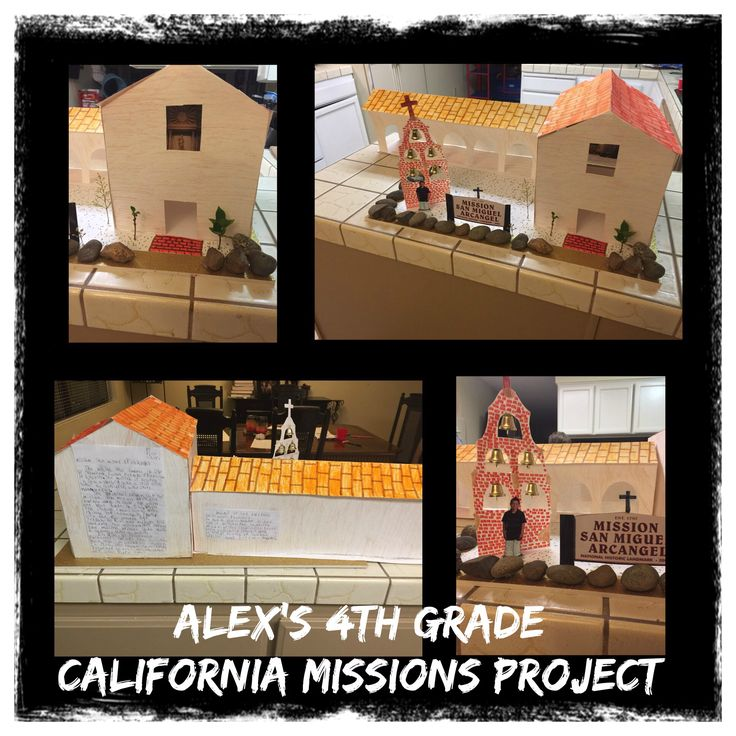 4th Grade California Missions Project - San Miguel Arcangel